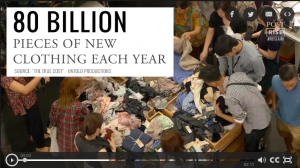 2-minute film on fast fashion
