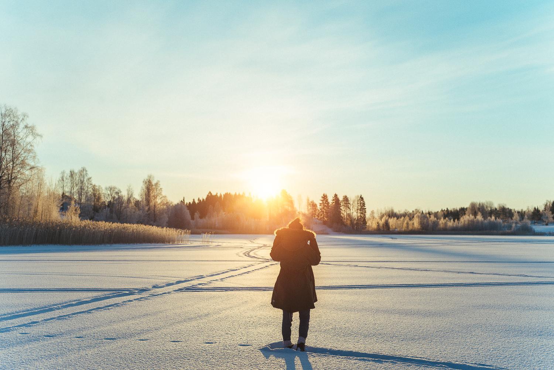 Farväl till vintern