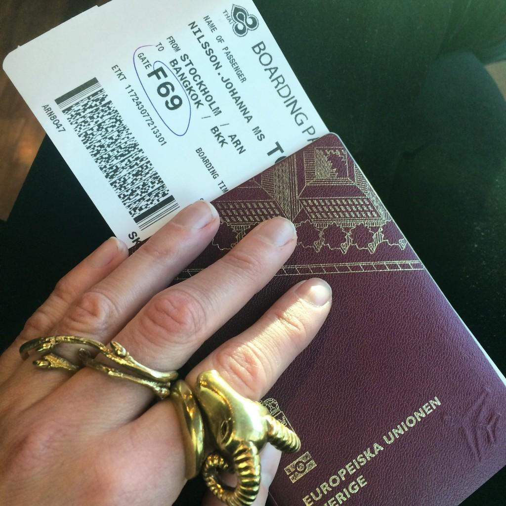 Hej då Sverige, hej Bangkok och Bali!