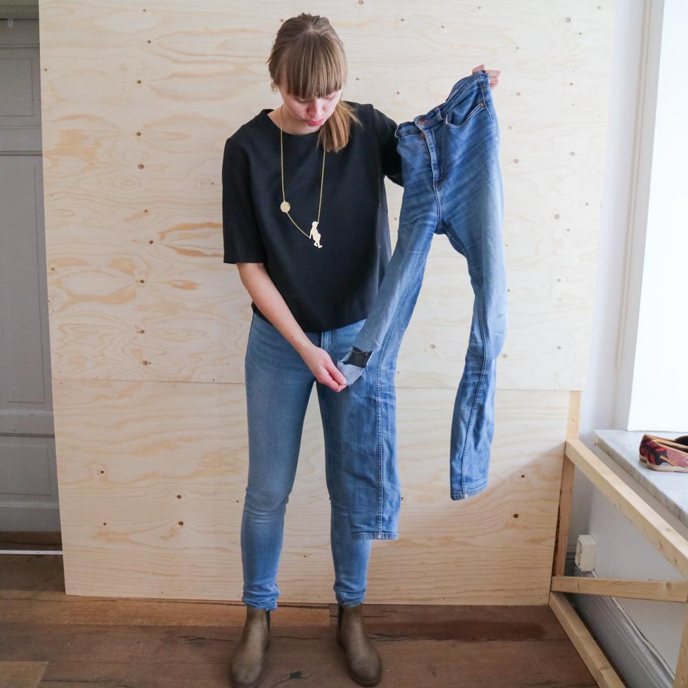 Jakten på de perfekta jeansen