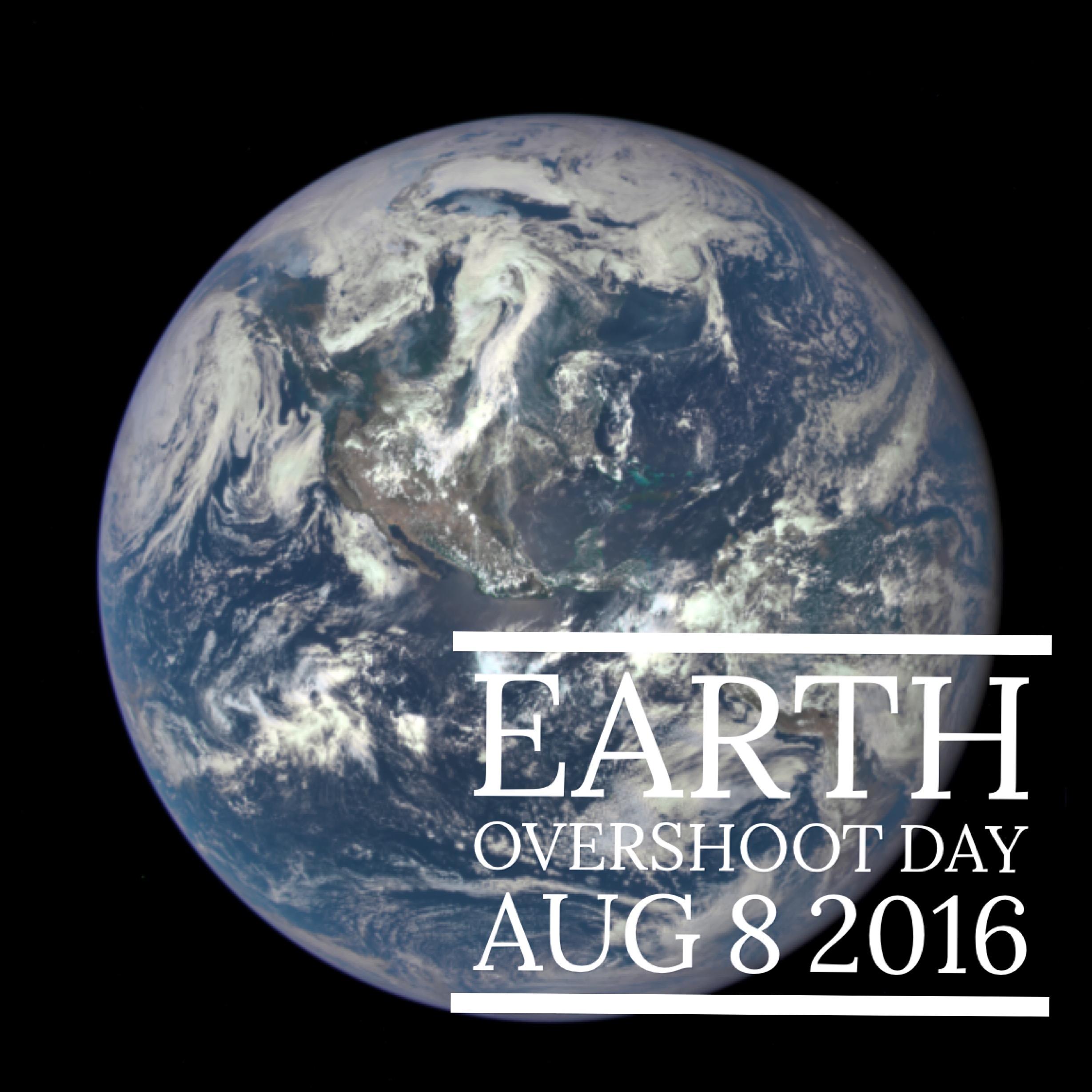Earth Overshoot Day – en dag att stanna upp