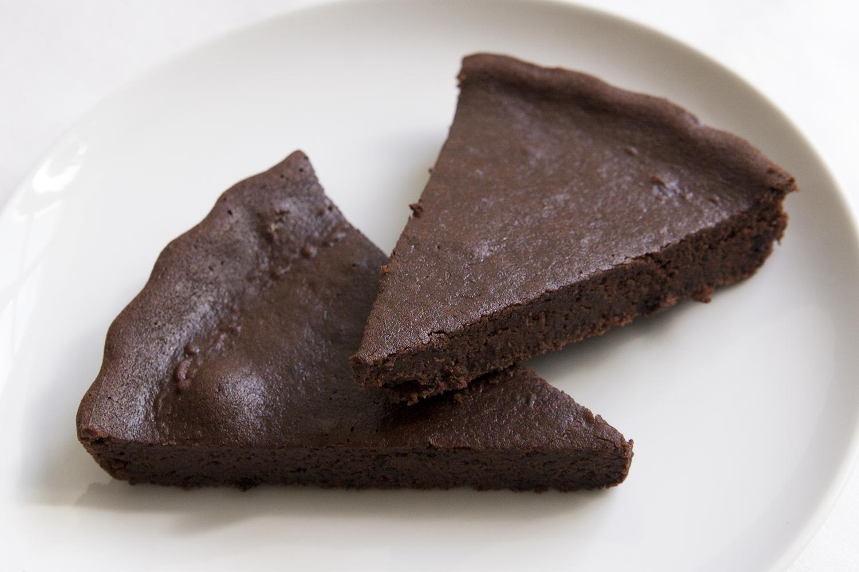 Glutenfri chokladkaka med svarta bönor