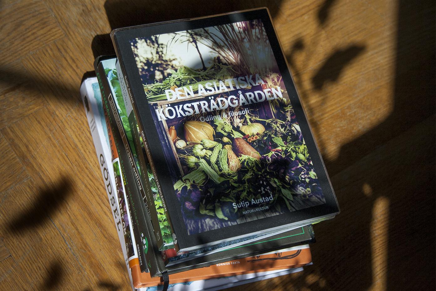 Litteraturvecka – vårens skörd av trädgårdsböcker – tips 1