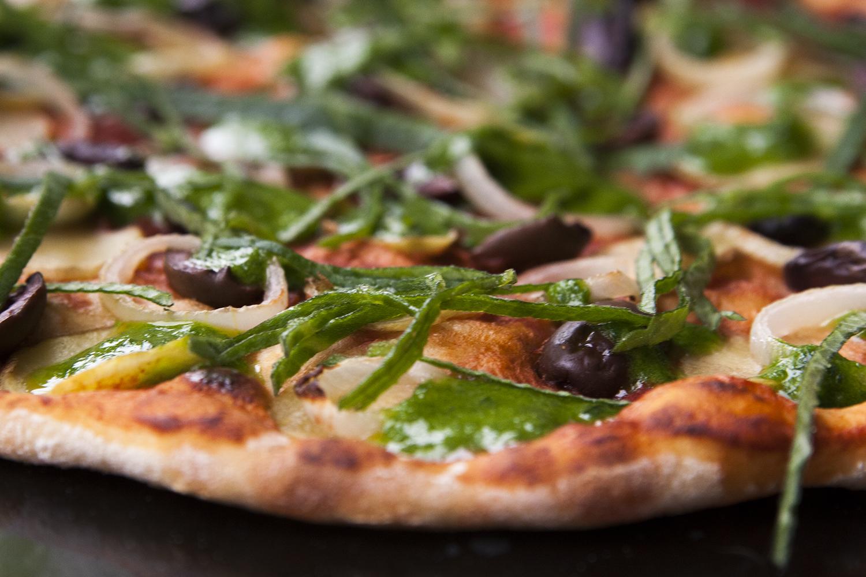 Godaste pizzan (vego)