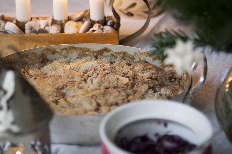 Vegetarisk Jansson – ett måste på julbordet