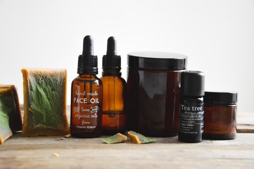 Min skönhetsrutin – hemmagjorda, naturliga & ekologiska hudvårdsprodukter