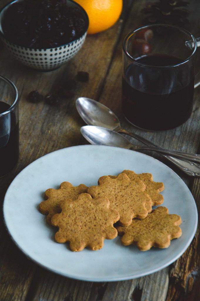 Glutenfria & veganska pepparkakor | Glutenfree & vegan gingerbread cookies
