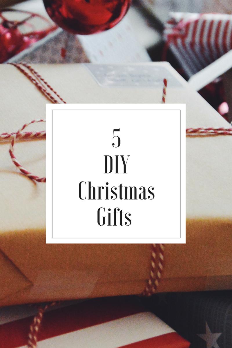5 julklappar du kan göra själv - THE NORDIC KITCHEN
