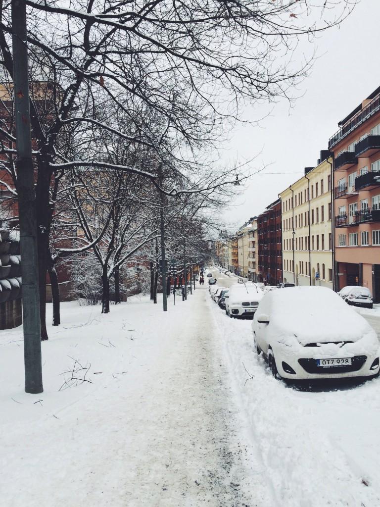 Och så kom vintern tillbaka…