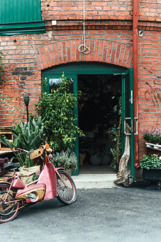 Herbanist inrednings -och trädgårdsbutik