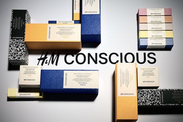 H&M conscious skincare