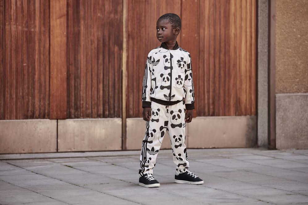 adidas Originals and  Mini Rodini launches collaboration