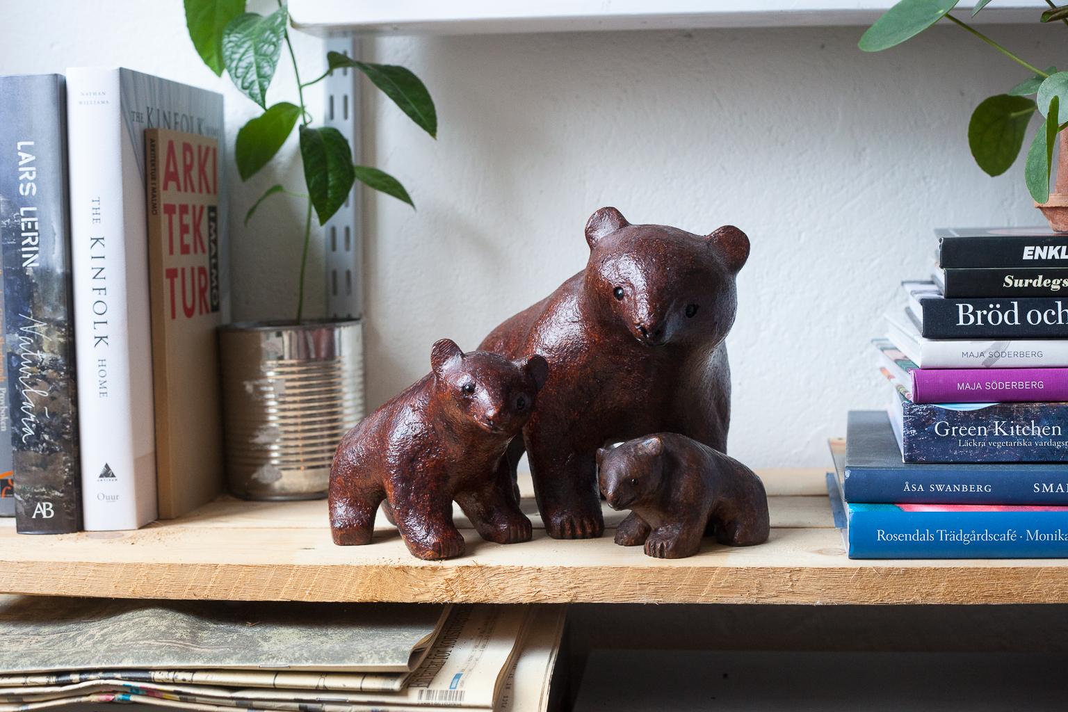 Tankar om en björnfamilj