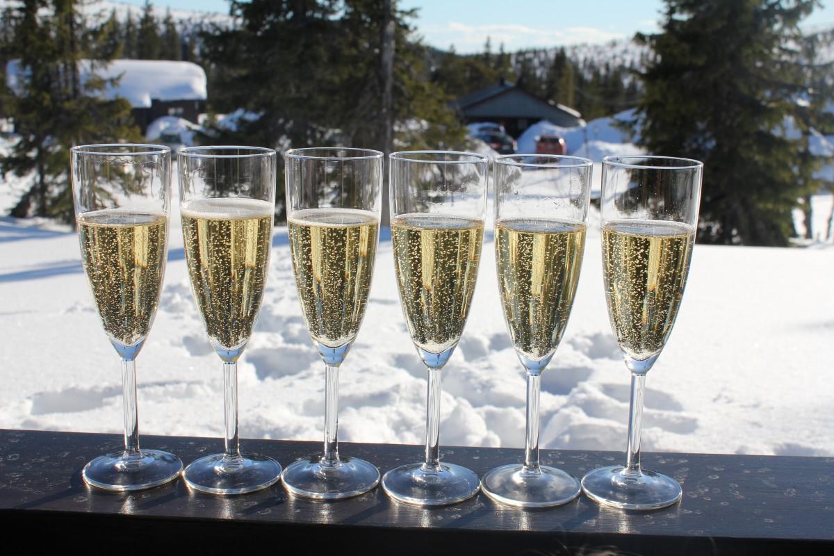 Gott att dricka på nyår