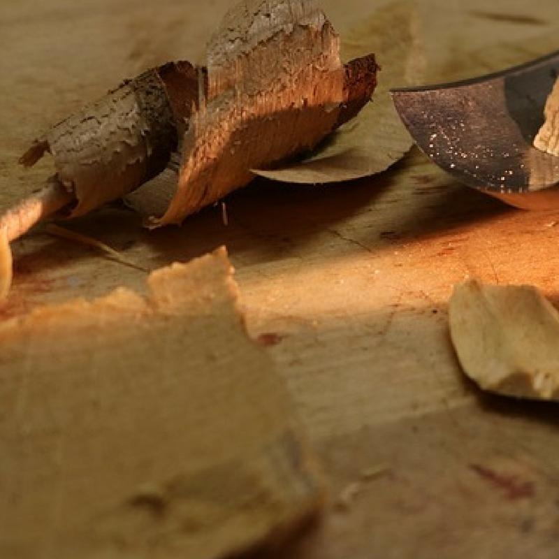 3 nybörjartips för att slöjda en skinkpinne.