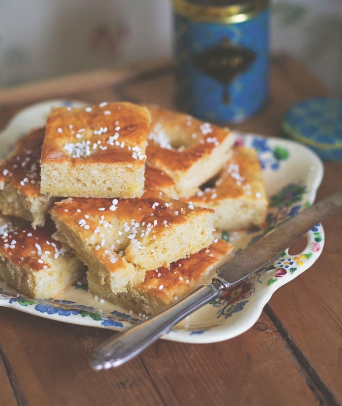 Krämiga butterbullar. Recept av Clara och Annakarin