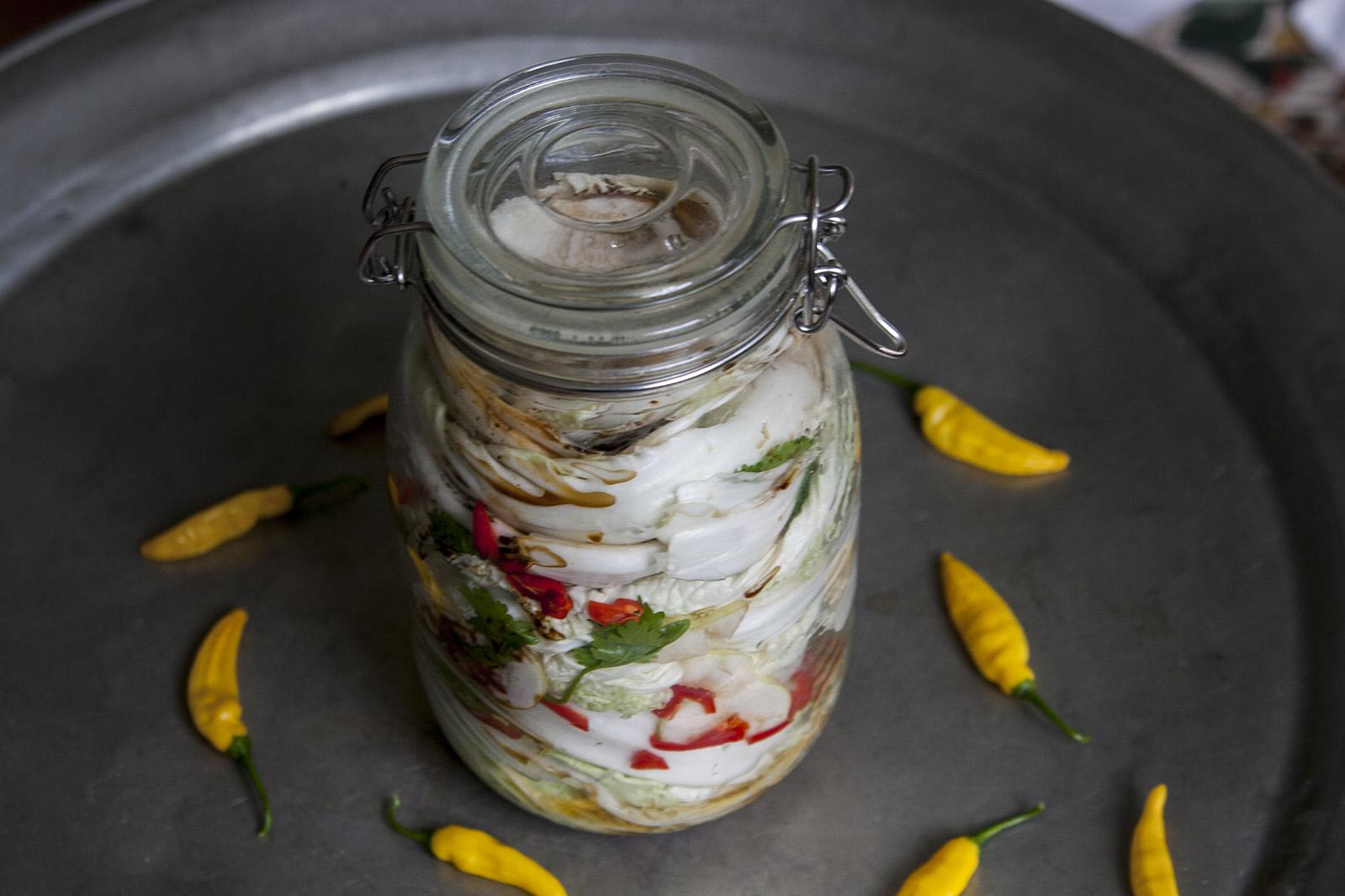 Vegansk kimchi