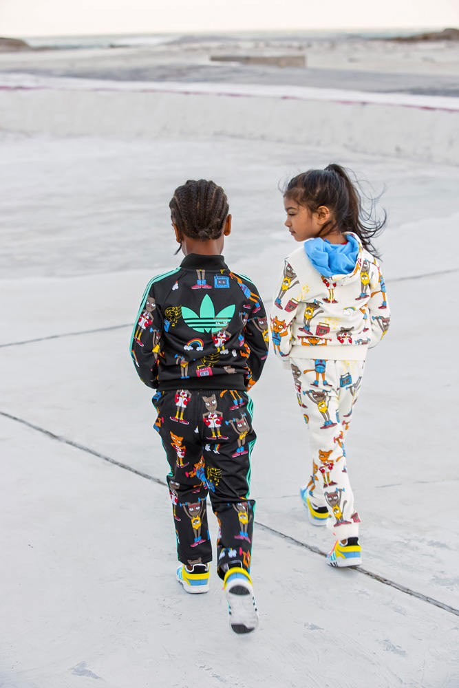 The final collection from adidas Originals by Mini Rodini