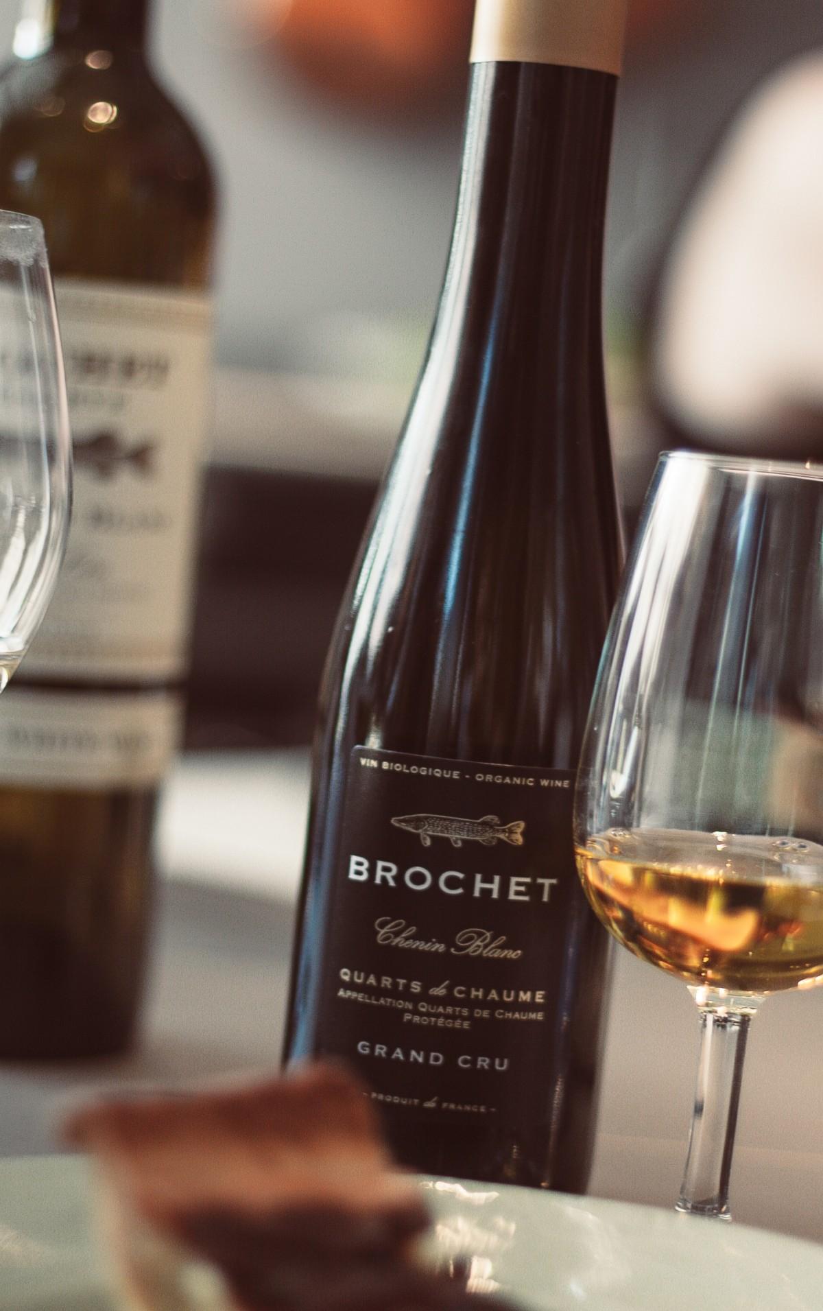 Sommarens dessertvin:  Brochet Quarts de Chaume Grand Cru 2015.