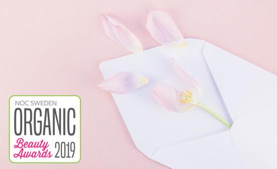 Alla nomineringar klara i Organic Beauty Awards 2019. Här ser du hela listan