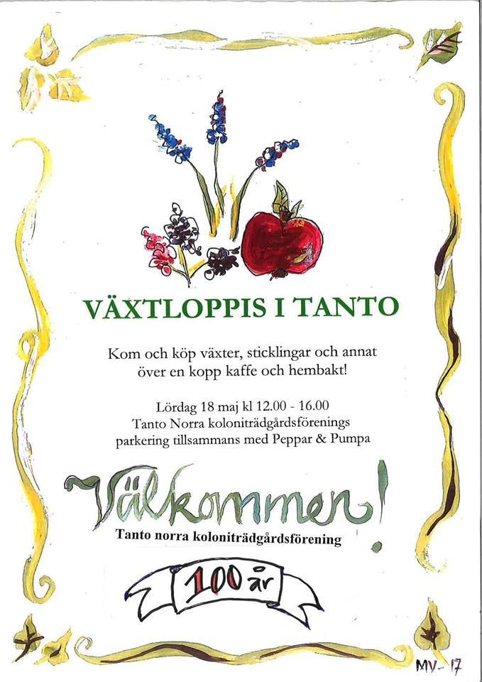 Växtloppis i Tanto, Södermalm