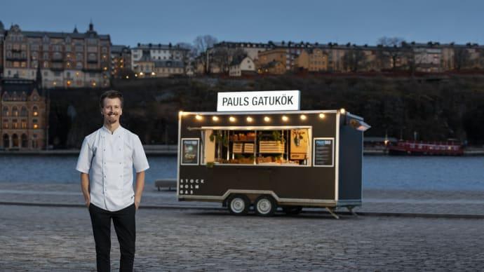 Paul Svensson öppnar gatukök – odlar på beställning