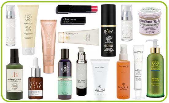 Hela listan: Alla vinnande produkter i Organic Beauty Awards 2019