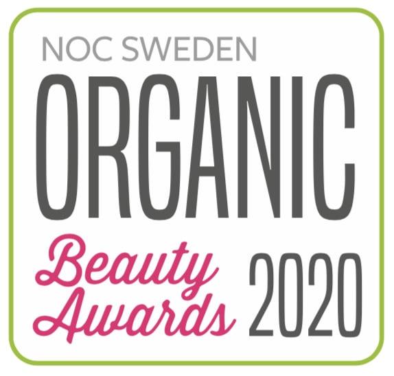 Alla nomineringar klara i Organic Beauty Awards 2020