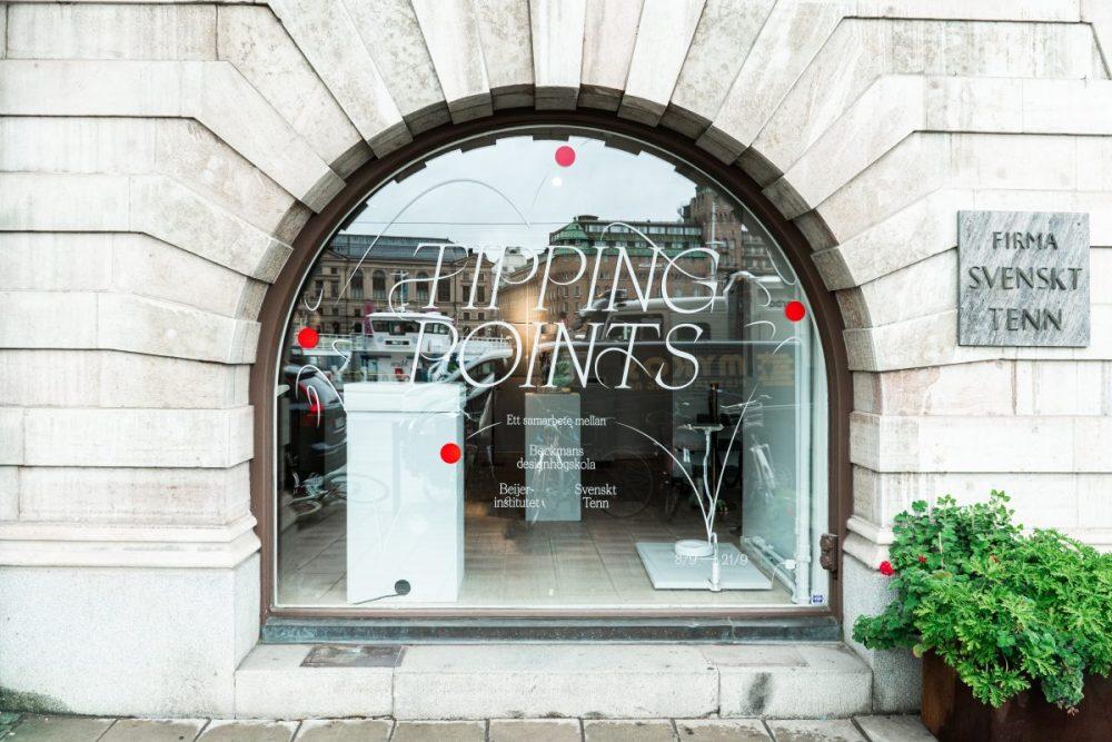 Tipping points, en utställning