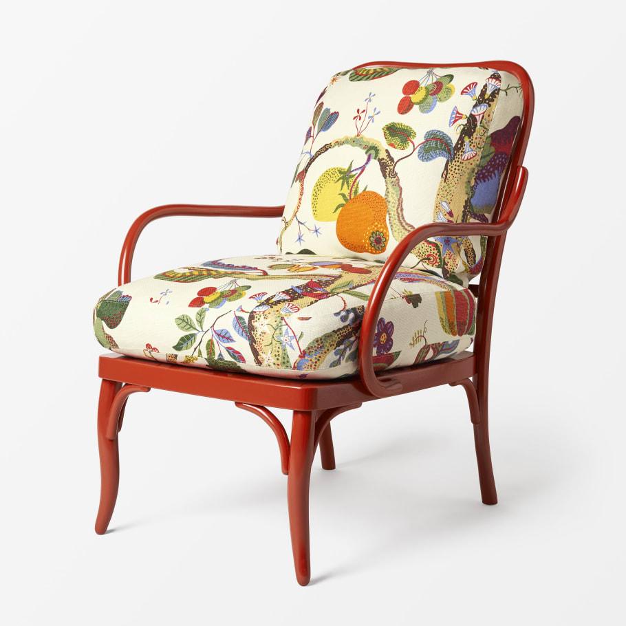 Chairs by Josef Frank, utställning på Svenskt Tenn